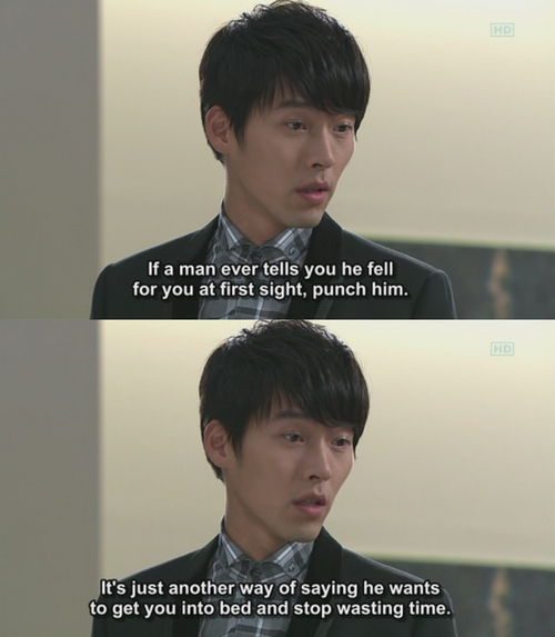 I trust this even more because Hyun Bin said it!
