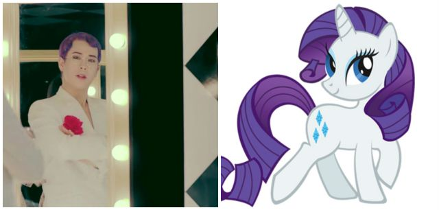 P.O's inspiration was...My Little Pony?
